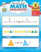 Thinking Kids' Math Analogies, Grade 5