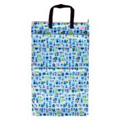Large Hanging Wet Dry Bag for Baby Cloth Nappies or Laundry