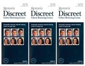 3 BOXES of Restoria Discreet Colour Restoring Cream 250ml