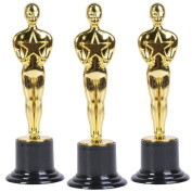 Oscar Star Trophies for Award Ceremonies or Parties 15cm