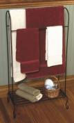 J & J Wire Quilt Holder with Shelf