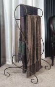 J & J Wire Quilt/Blanket Holder, Bronze