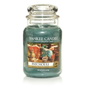 Yankee Candle 650ml Jar Candle, Large, Patchouli