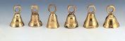 Assorted 3.8cm Brass Bells-One Dozen-BL031