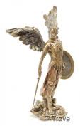 Cold Cast Bronze Archangel Saint Michael Statue Figurine