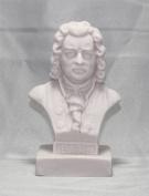 J.S. Bach Statue 13cm Bust Figurine Statuette