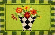 Harlequin Flower Vase Doormat-JellyBean Rug