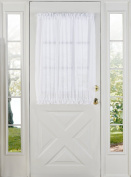 Stylemaster Home Products Elegance Voile Door Panel, 150cm by 100cm , White
