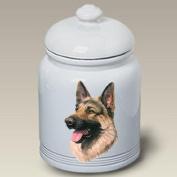 German Shepherd Dog - Linda Picken Treat Jar