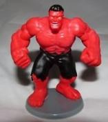 Marvel Miniature Alliance Red Hulk Toy Figurine & Cake Topper