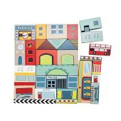 Le Toy Van : Timber Town Blocks