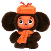 Cheburashka Soft Plush Toy with hat and scarf 19cm