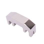 Alloy Violin Practise Mute for 4/4 Violin Silver