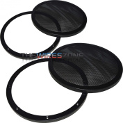 Xscorpion D-12MG 30cm Mesh Car Speaker/Subwoofer Grill with Double Rings