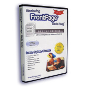 Mastering MS FrontPage Made Easy Training Tutorial v. 2003 through 97 -How to use Microsoft FrontPage video e Book Manual Guide. Even dummies can learn from this total CD for everyone, with Introductory through Advanced material from Professor Joe
