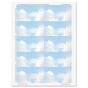 Geographics Clouds Design Business Suite Cards, 8.9cm x 5.1cm , 29kg Cardstock, 250 Cards per Pack