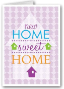New Home Sweet Home Note Card - 18 Boxed Cards & Envelopes