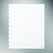 Staples. Arc Notebook Filler Paper, Letter-size, Narrow-Ruled, White, 22cm x 28cm , 50 Sheets