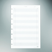"""Staples. Arc """"To-Do"""" Notebook Filler Paper, Junior-sized, White, 50 Sheets"""