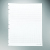 Staples. Arc Notebook Filler Paper, Letter-sized, Graph-Ruled, White, 50 Sheets