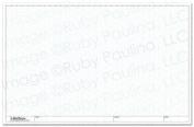 11x17 Loose Leaf Isometric Paper, White