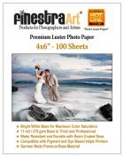 10cm X 15cm 100 Sheets Premium Lustre Inkjet Photo Paper [Office Product]