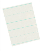 School Smart Skip A Line Writing Paper for Grade 2 - 22cm x 28cm - Pack of 500 - White