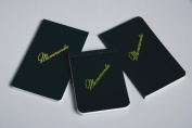 Memorandum Book, 8.9cm x 11cm , Dark Green, Top Bound, NSN 7530-01-060-7511