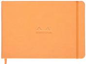 Rhodia Orange Landscape Webnotebook Blank