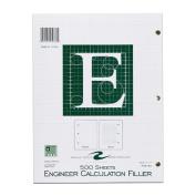 Roaring Spring Engineering Filler, 22cm x 28cm , Green, 500 Sheets