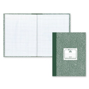 Rediform 53110 Lab Notebook, Quadrille Rule, 7-7/8 x 10-1/8, White, 96 Sheets/Pad