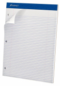 Ampad Evidence Dual Pad, Narrow Ruled, Size 22cm x 30cm , White Paper, 100 Sheets Per Pad