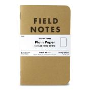 Field Notes 8.9cm x 14cm Kraft Plain Memo Book, 48 pages