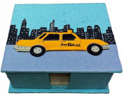 Mr. Ellie Pooh New York City Taxi Note Box and Paper