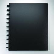 Staples. Arc Customizable Durable Poly Notebook System, Black, 23cm - 1cm x 28cm - 0.6cm