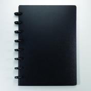 Staples. Arc Customizable Durable Poly Notebook System, Black, 15cm - 1cm x 20cm - 1.9cm