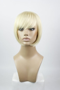 Short Straight BOBO Party Cosplay Halloween Wigs Human Hair Extensions For Women
