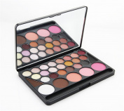 Pure Vie(TM) Professional 28 Colours Cream Concealer Camouflage Makeup Eyeshadow Palette Contouring Kit #1