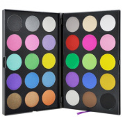 Pure Vie(TM) Professional 30 Colours Cream Concealer Camouflage Makeup Eyeshadow Palette Contouring Kit