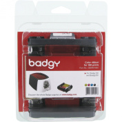 Badgy Colour ribbon for 100 prints Badgy100 & Badgy200