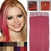 Remy Human Hair Extensions Tape in Hair 41cm - 60cm 20pcs One Set More Colours Beauty Style