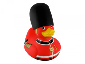 Bud Rubber Luxury Duck Bath Tub Toy, Deluxe Royal Guard