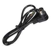 3.5mm Mini Jack AUX 8-Pin M-BUS Audio Input Adapter Cable for Alpine