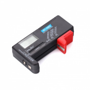 BlueBeach Portable Digital Battery Tester - For AA/AAA/C/D/9V & Mini Cell Batteries
