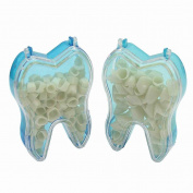 2 Box Oral Healthcare Dental Temporary Crown Material For Anterior Molar Teeth
