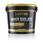 Matrix Nutrition Whey Protein Isolate Powder 1KG - Low Fat - Low Carb.