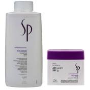 Wella SP Volumize Shampoo 1000ml & Wella SP Volumize Mask 400ml