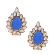 Ethnic Indian Bollywood Jewellery Set starry Earrings SetBAEA0337BL