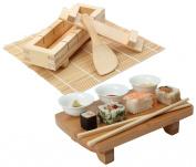 Japanese SUSHI Making Kit & Serving Set - The Ultimate SUSHI KIT