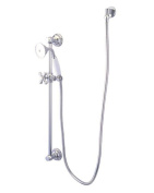 Kingston Brass KAK3521W1 Designer Trimscape Made To Match Shower Combo, Polished Chrome
